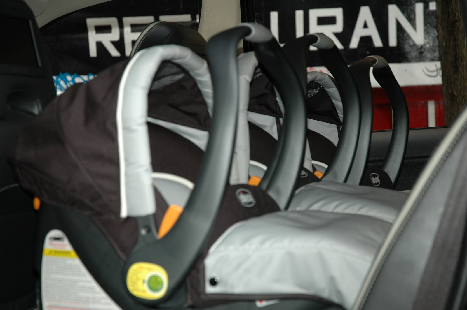 TRIPLETS Tips On Fitting 3 Infant Seats Across The Back Seat Or 2 Side By For Twins