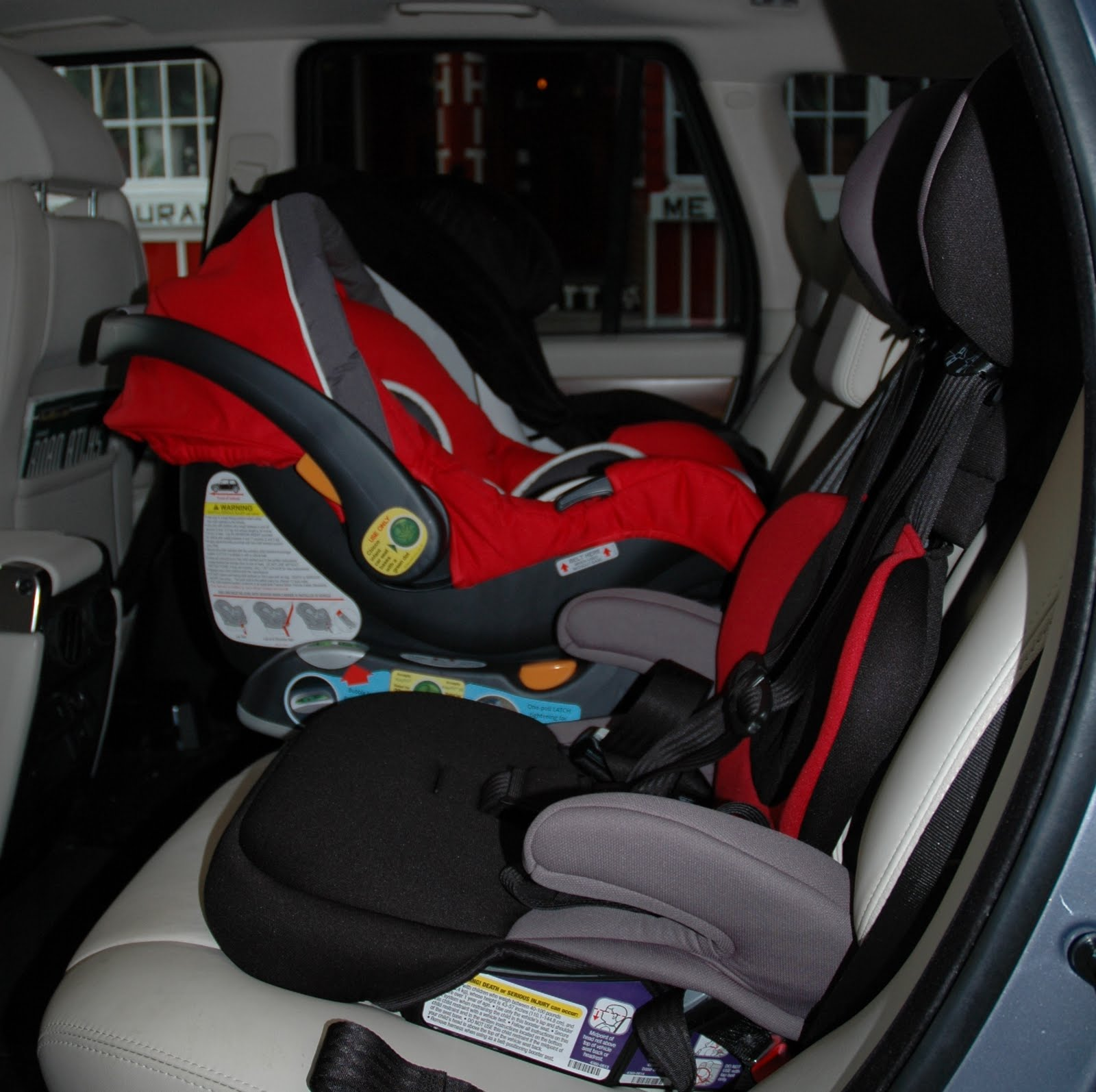 Car Seat Fit Back Row Of Ford Galaxy