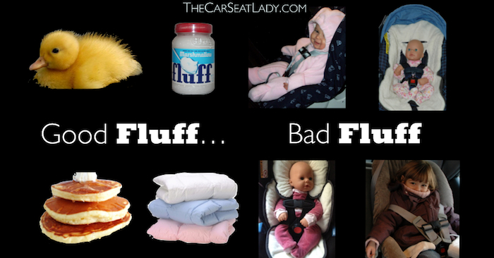 The Dangers of Fluff in the Car Seat (including coats, snowsuits ...