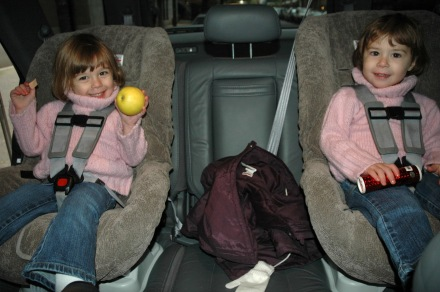 >(most) Coats & Car Seats are NOT a safe combo (here are ways to keep kids WARM & SAFE)