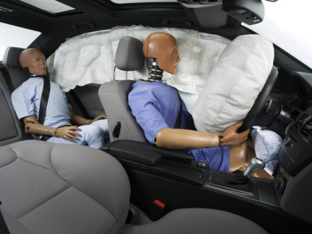 Airbags - frontal, side curtain & knee