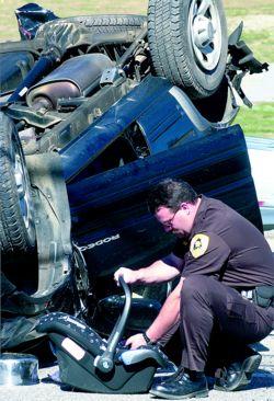 Britax Car Seat Accident