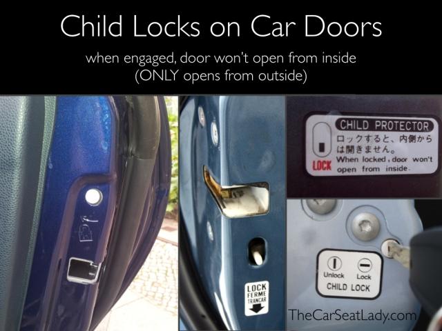 Child locks on car doors.001