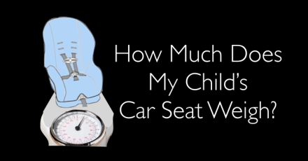 how much does my childs seat weigh